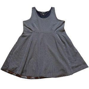Lane Bryant Polka Dot Dress